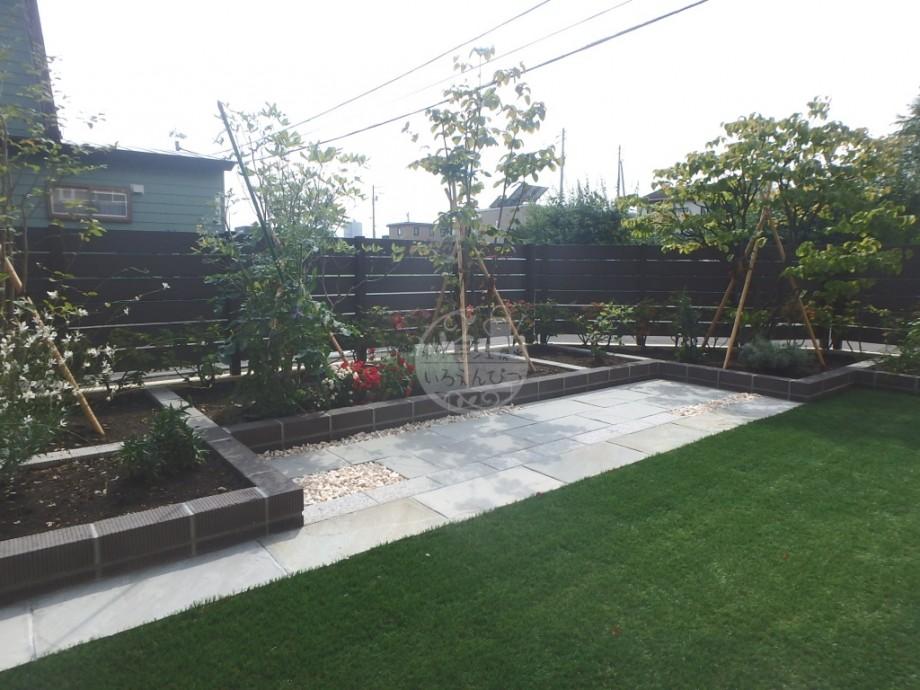 札幌市 モクプラボード・リアル フェンス