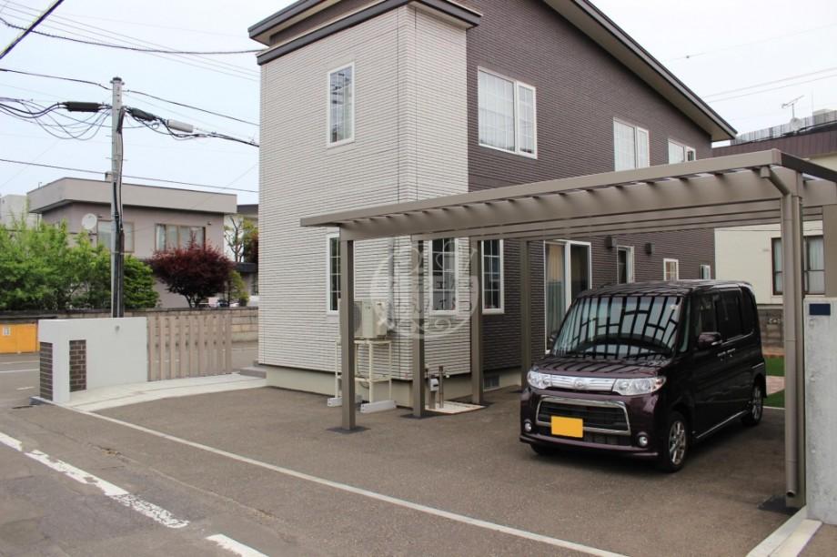 札幌市 カーポート ソルディーポート