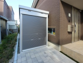 札幌 イナバガレージ バイク保管庫