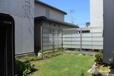 札幌市 LIXIL プラスG フェンス