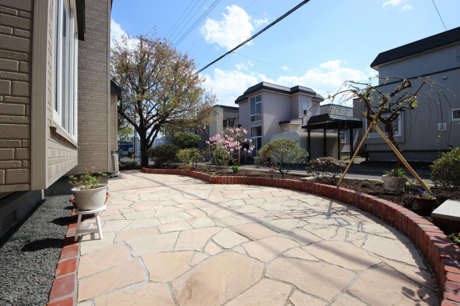 札幌 自然石