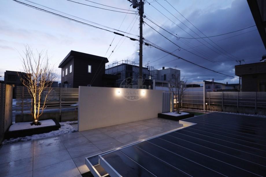 札幌市 美彩 ウォールグラスライト
