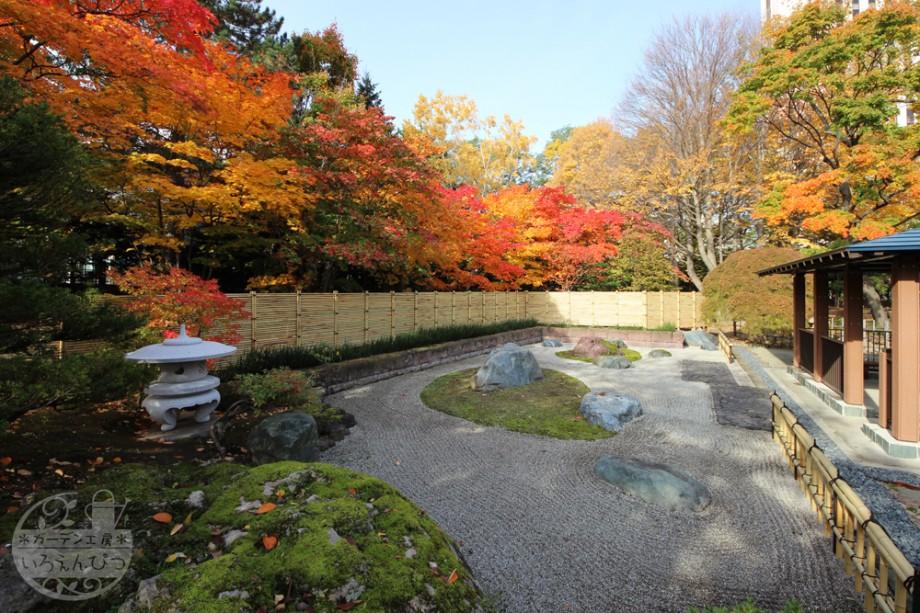 札幌中島公園 石庭