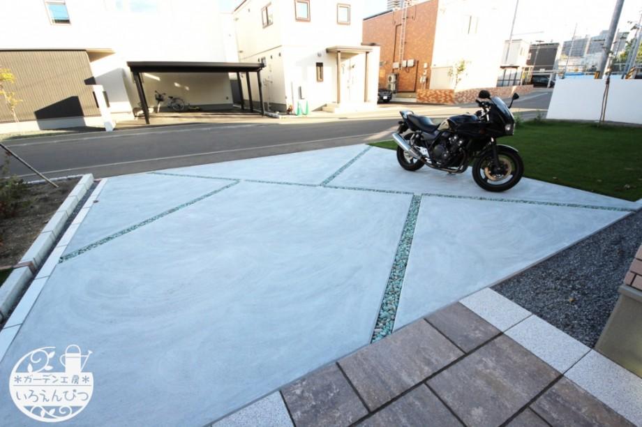 札幌 コンクリート駐車場