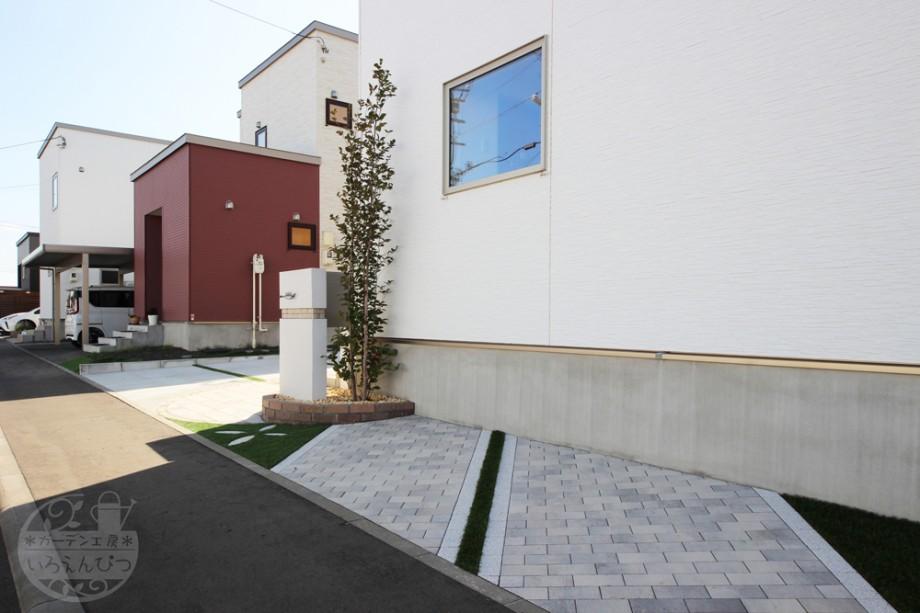 札幌 自転車置き場 インターブロック