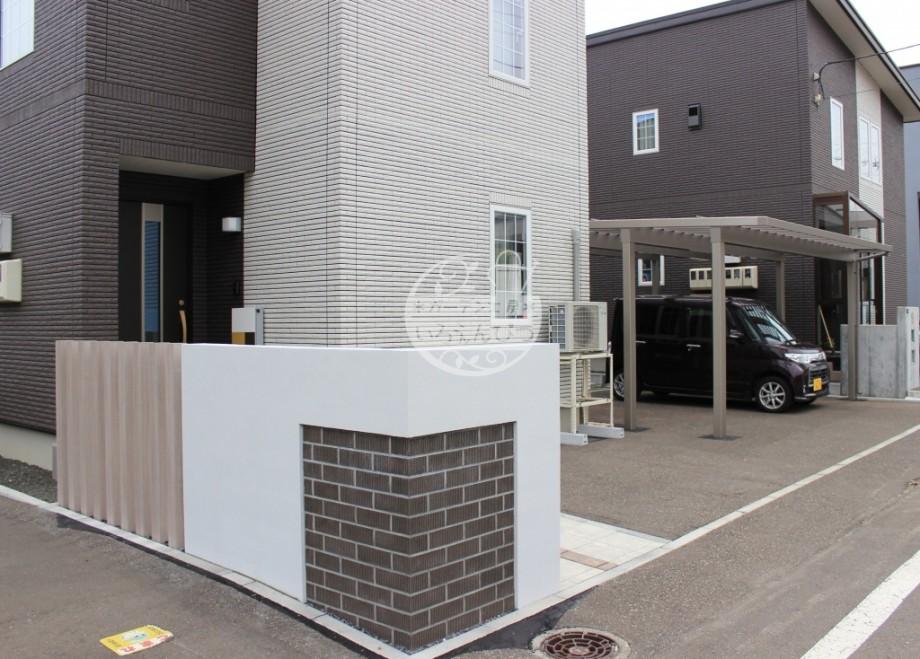 札幌市 塗壁 BBブリック 壁