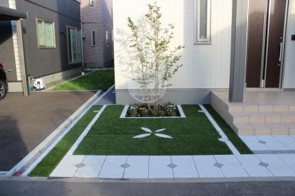 札幌市 シャラ 人工芝