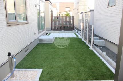 札幌市 人工芝 くつろぎスペース