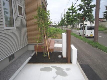 一条工務店 外構 植栽