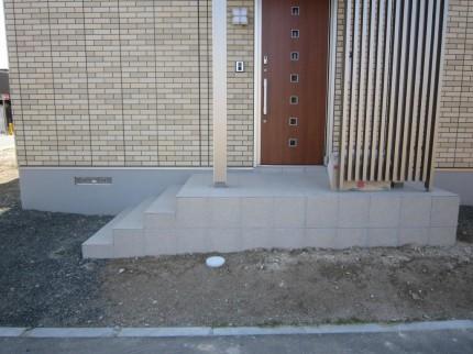 札幌市 塀 着工前