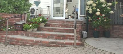 厚別区 レンガ 階段2