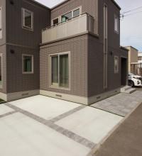 札幌 土間コンクリート 駐車場