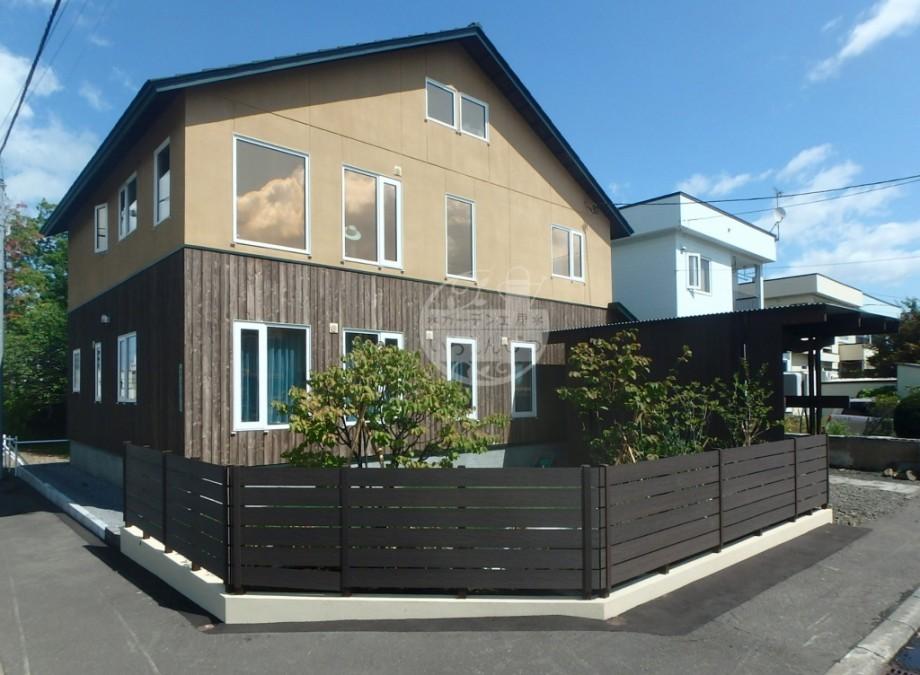 札幌市 フェンス モクプラボード