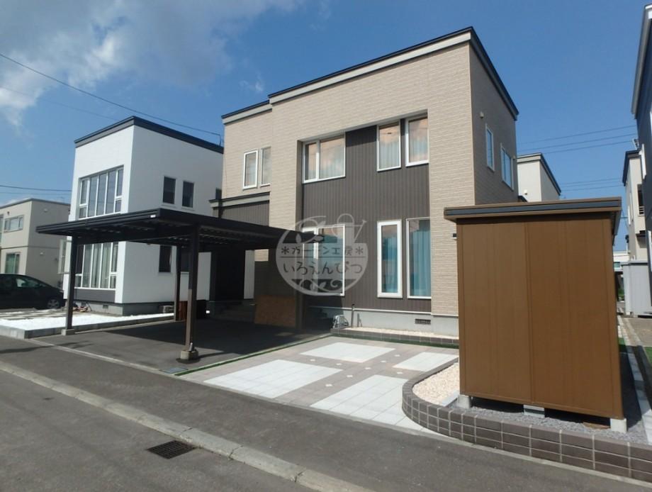 札幌市 インターブロック 駐車スペース