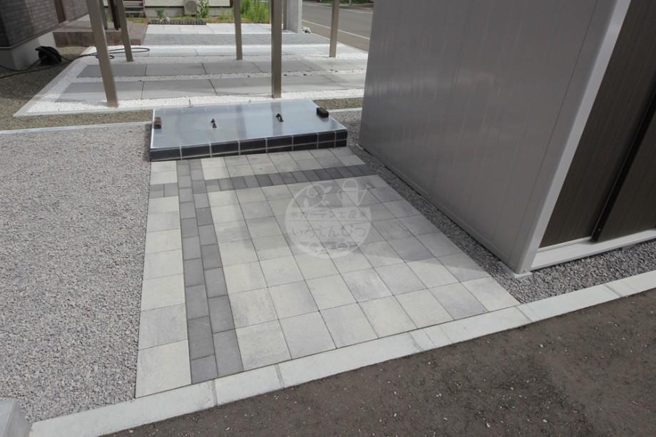 駐輪スペース クロスデザイン